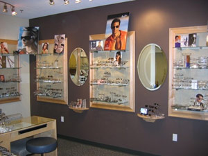Glasses and Contact Lenses at Griffin & Reed Eye Care in Sacramento